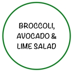 BroccoliAvocadoLimeSalad