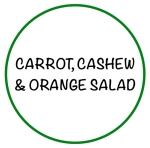 CarrotOrangeCashewSalad