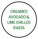 CreamedAvocadoLimePasta
