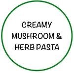 CreamyMushroom&HerbPasta