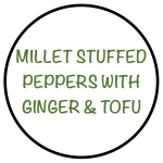 MilletStuffedPeppersWithGinger&Tofu
