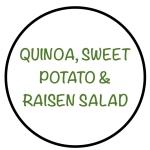 QuinoaSweetPotato&RaisenSalad